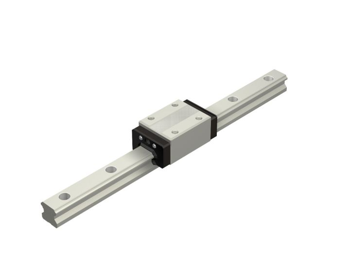 Miniature Linear Guide - Stocked Sizes, HSR8 HSR10 HSR12 Series (THK)