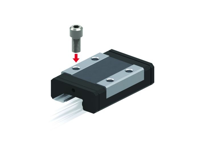 Miniature Linear Guide - Interchangeable SRS Series (THK)